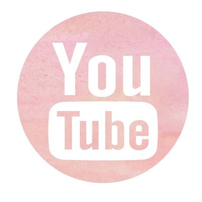 Youtube Logo pink