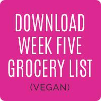 vegan_week5