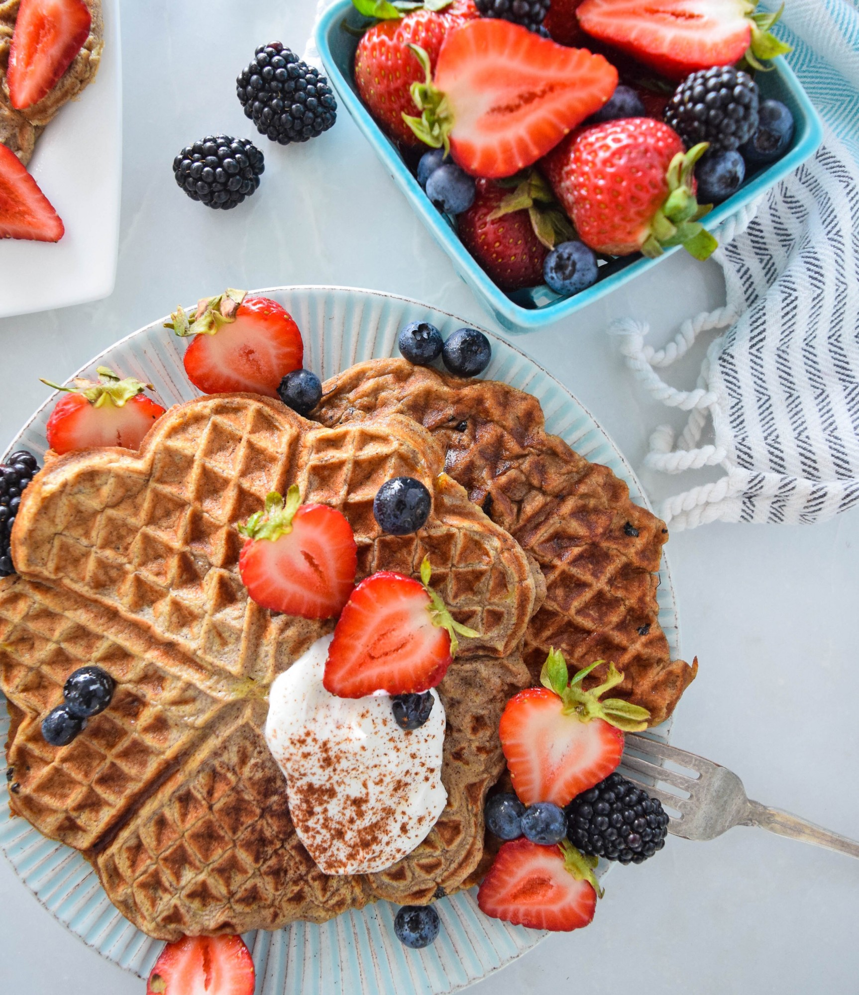 protein-waffles-tone-it-up-healthy