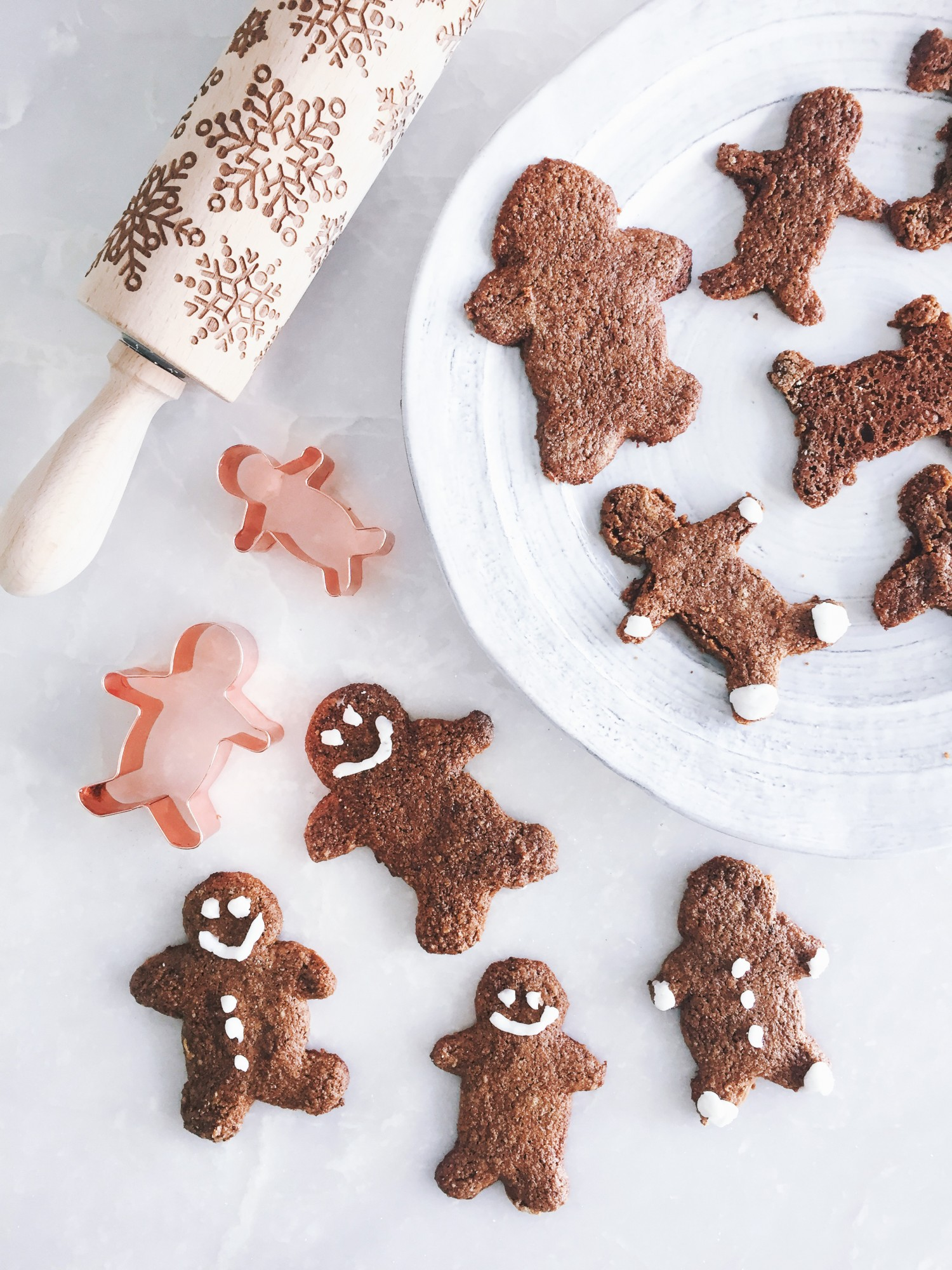 Tone It Up Healthy Gingerbread Man Cookie Recipe