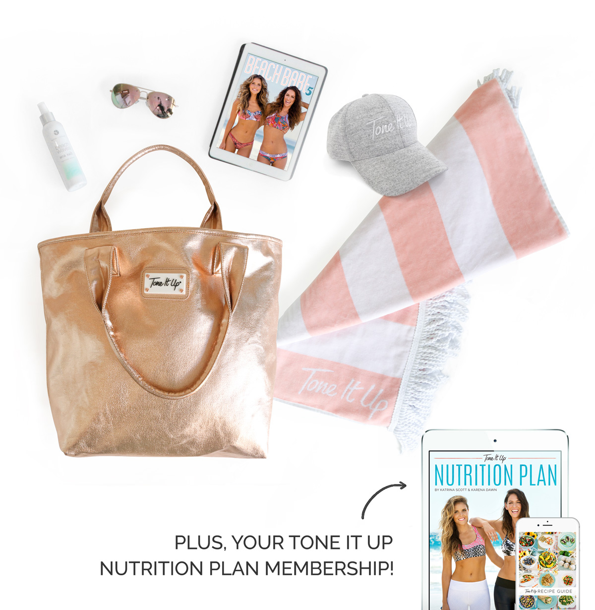 tone it up nutrition plan bikini series bundle discount