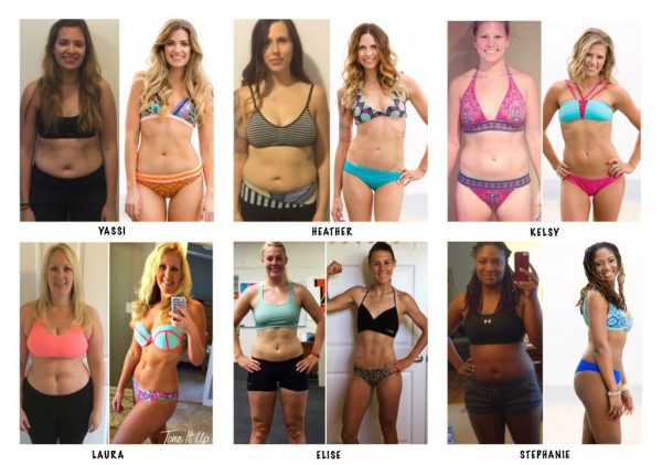 Tone It Up Nutrition Plan Success Stories Transformations Collage