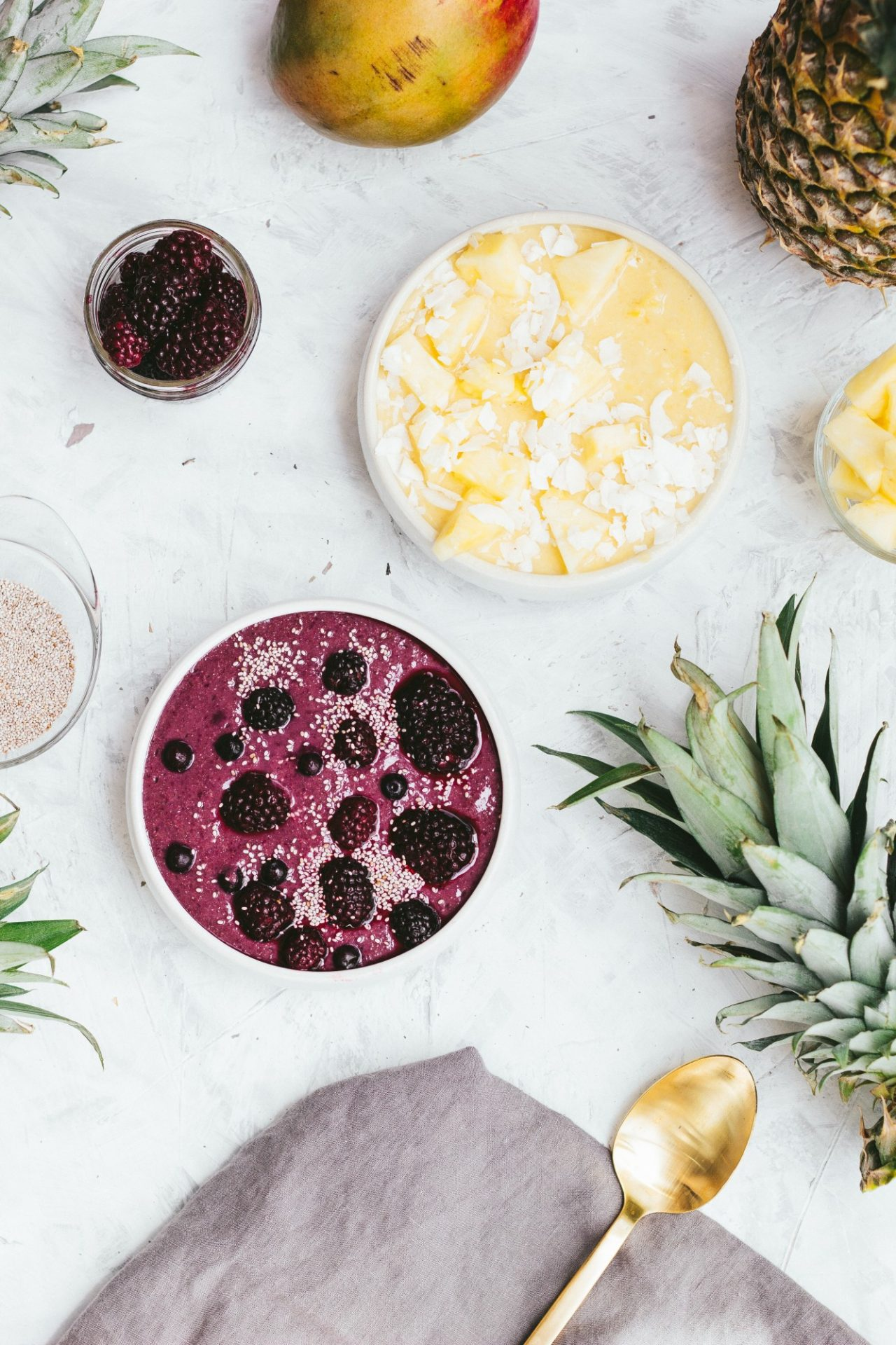 tone it up nutrition plan slimming smoothie recipes healthy beautifying blackberry banana coconut pineapple superfood spirulina