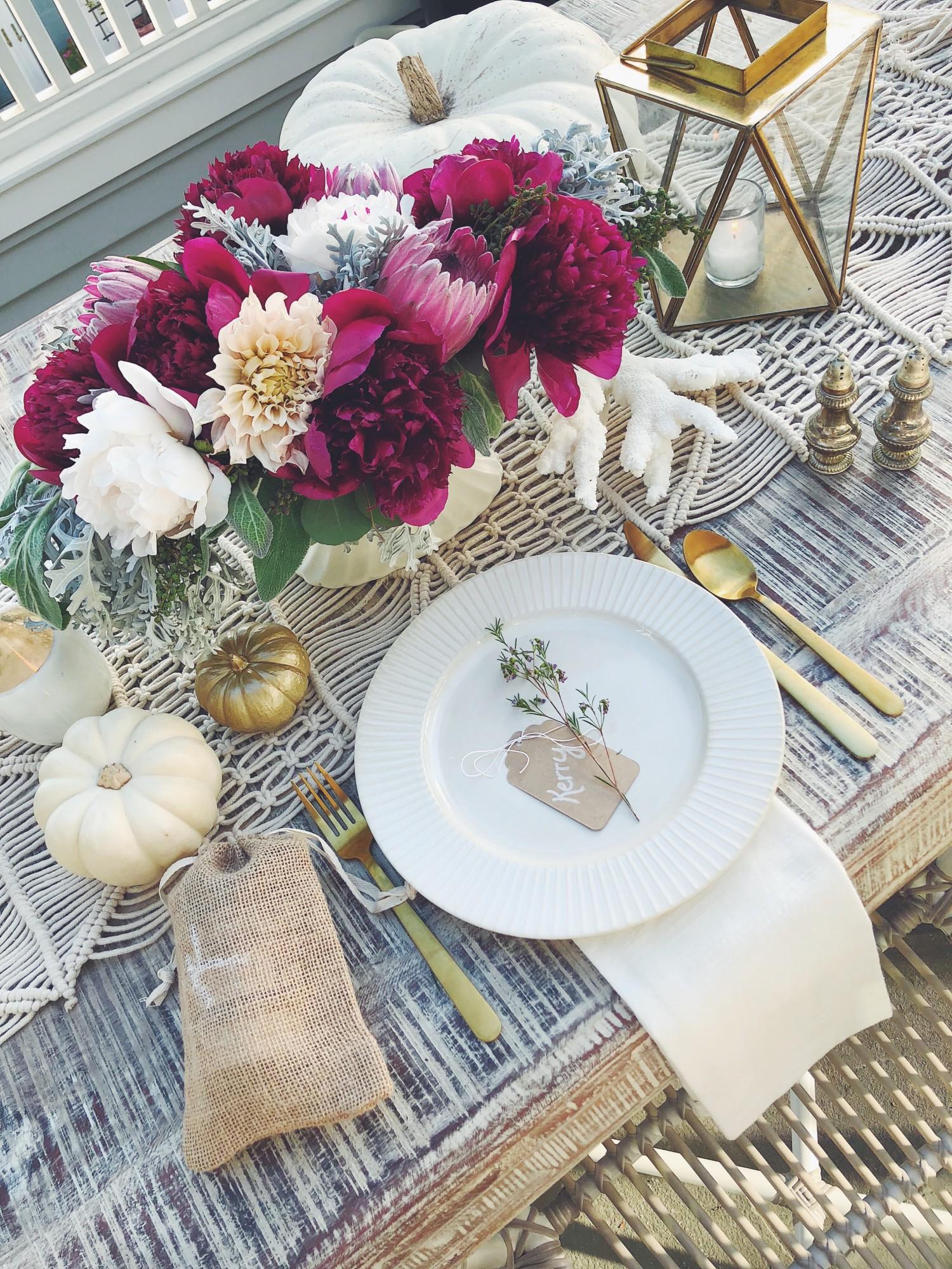 thanksgiving tablesescape decor katrina scott