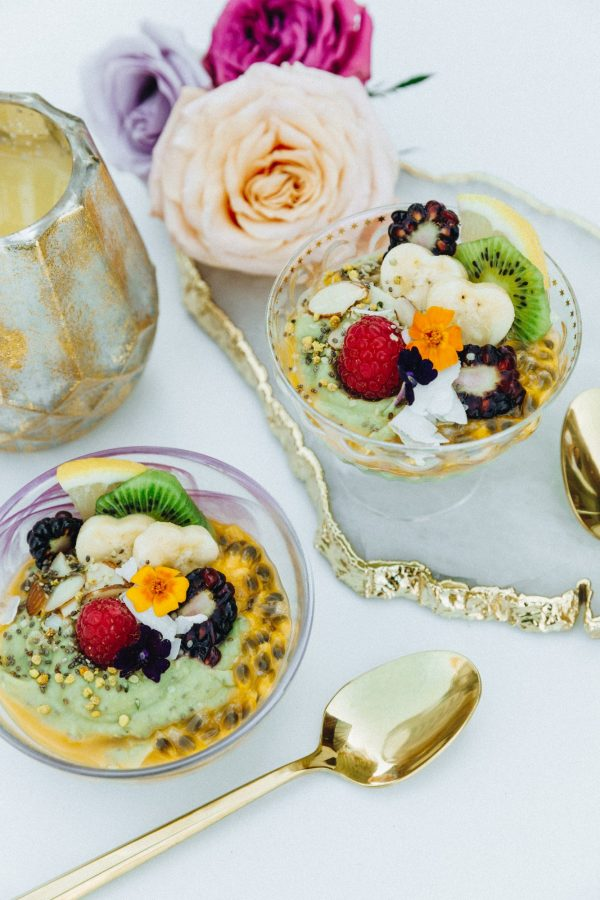 Healthy Ginger Avocado Chia Seed Pudding from the Tone It Up Nutrition Plan!