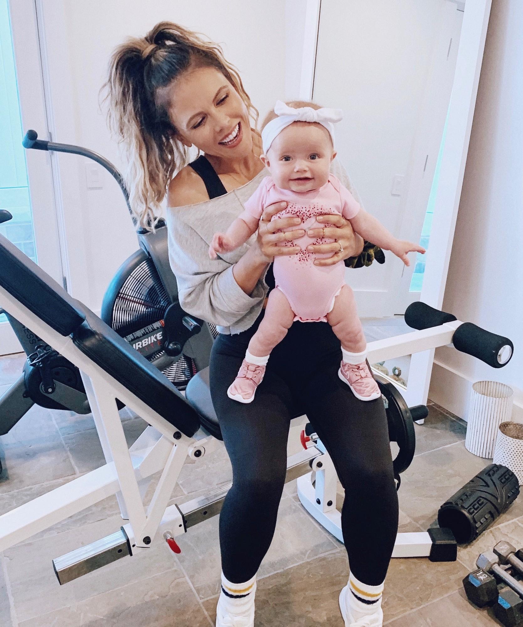 Postnatal exercises and fitness advice from Tone It Up's Katrina Scott.