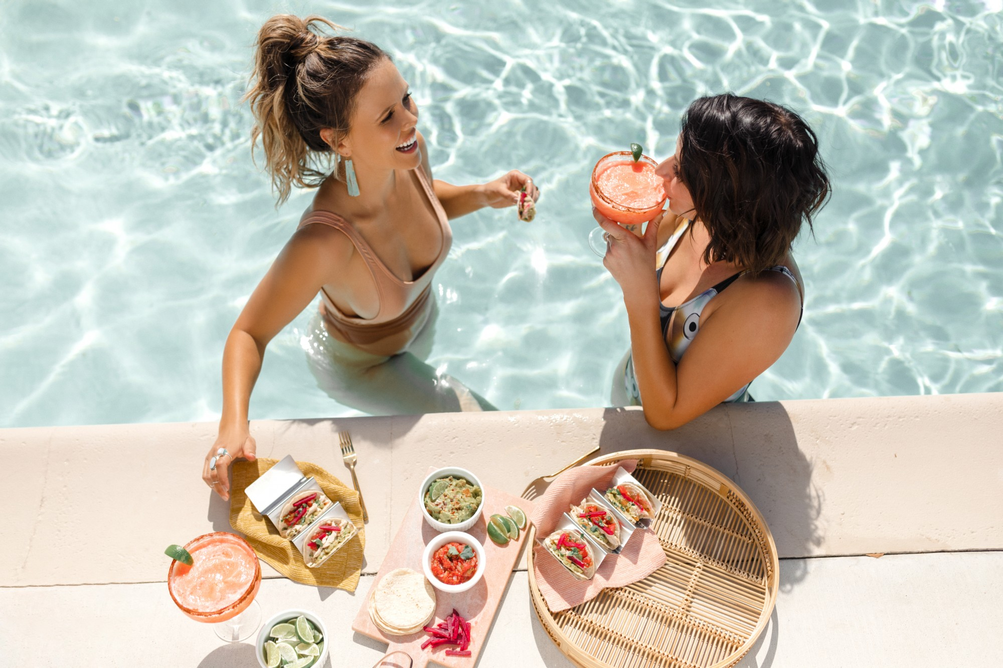 Healthy taco and margarita recipes from Tone It Up