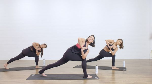 Crescent Lunge w Twist - Best Yoga Poses Love Your Body
