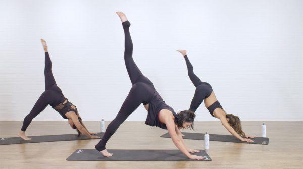 Three Legged Dog - Best Yoga Poses Love Your Body