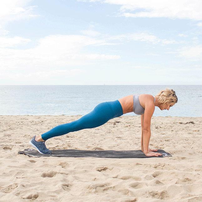 Karena Plank - Best Posture Exercises