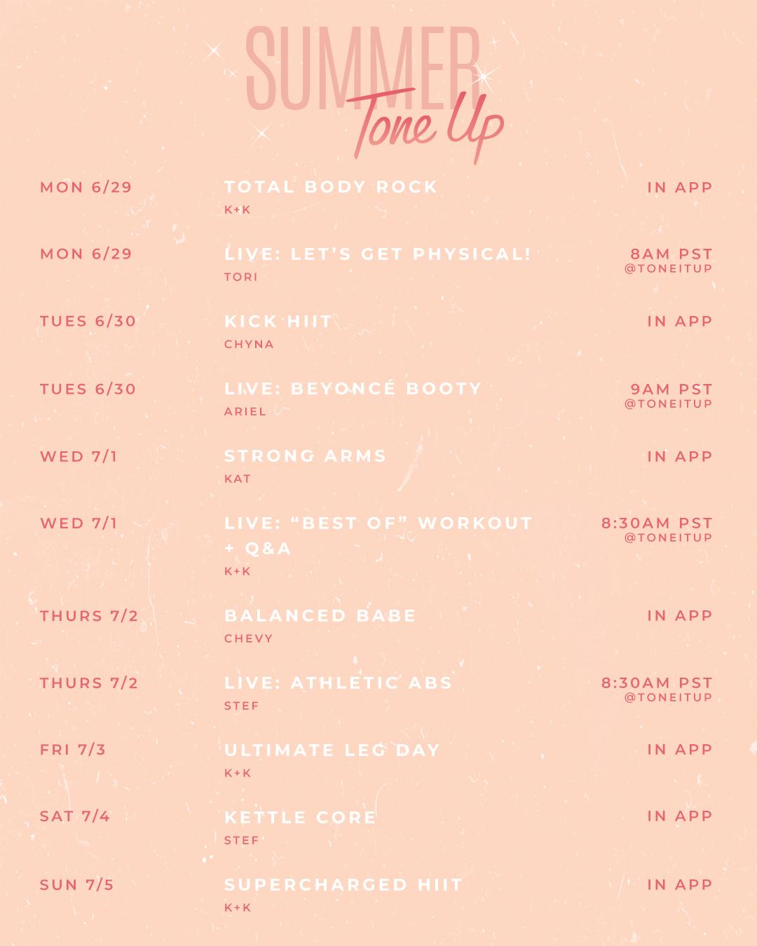 6.24-Summer-Tone-Up-Weekly-Schedule