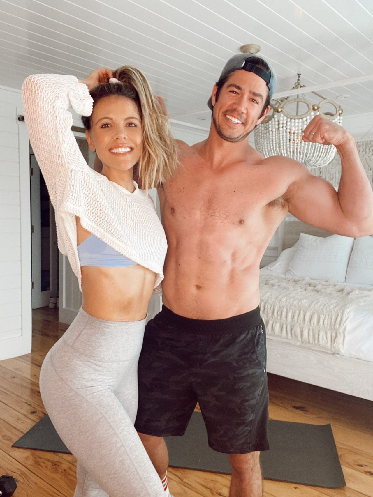 Katrina Brian Bedroom Workout - Best Summer Workouts Tone It Up