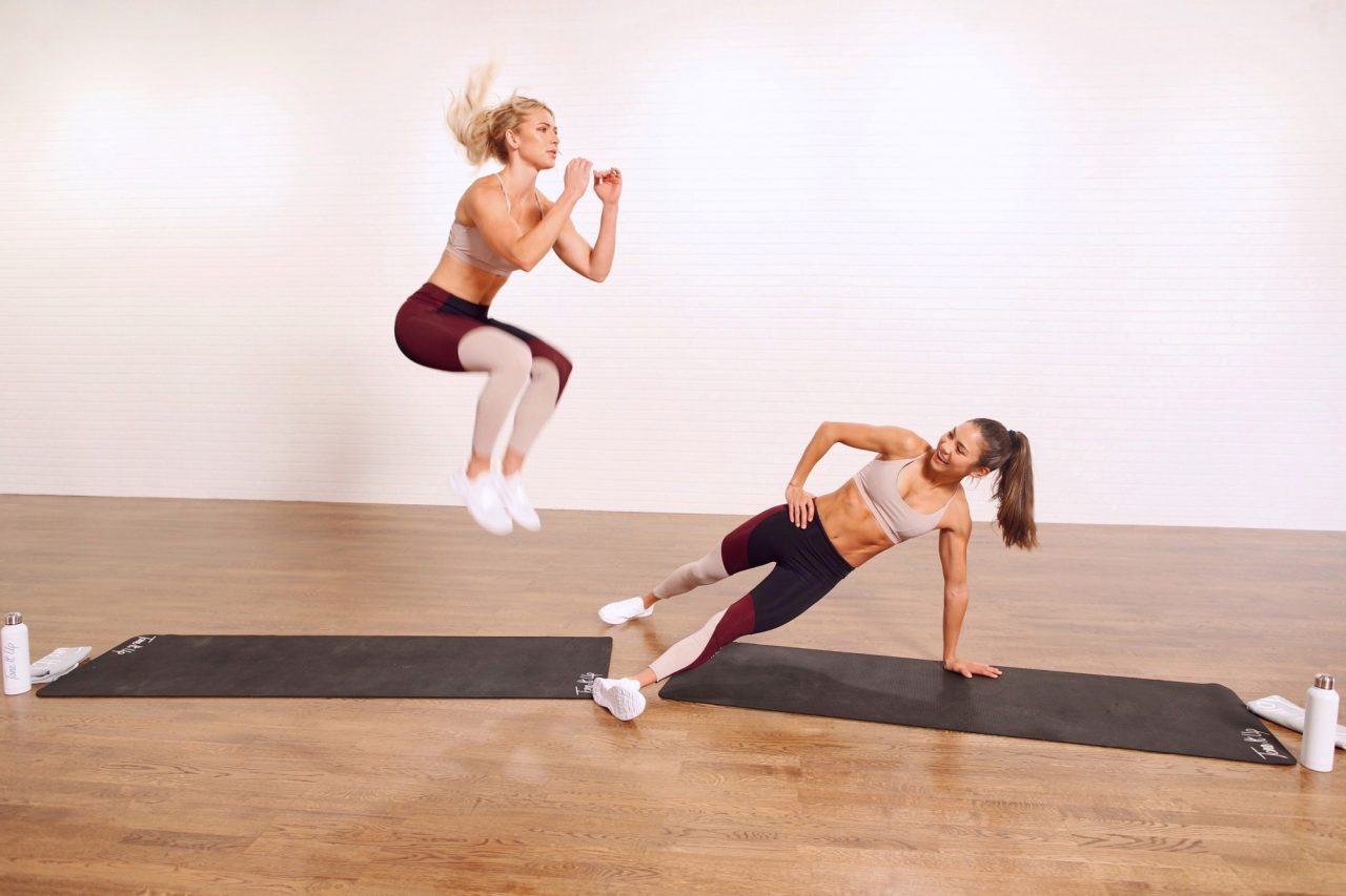 Extreme Abs - Hardest Ab Workout - Tone It Up Trainers Chyna Stef